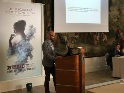 Bruno Valsecchi, Presidente di APTPI al 39 congresso SIME 2018