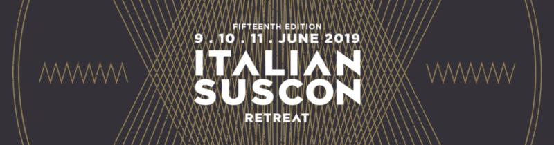 APTPI 15 ITALIAN SUSCON Retreat 2019