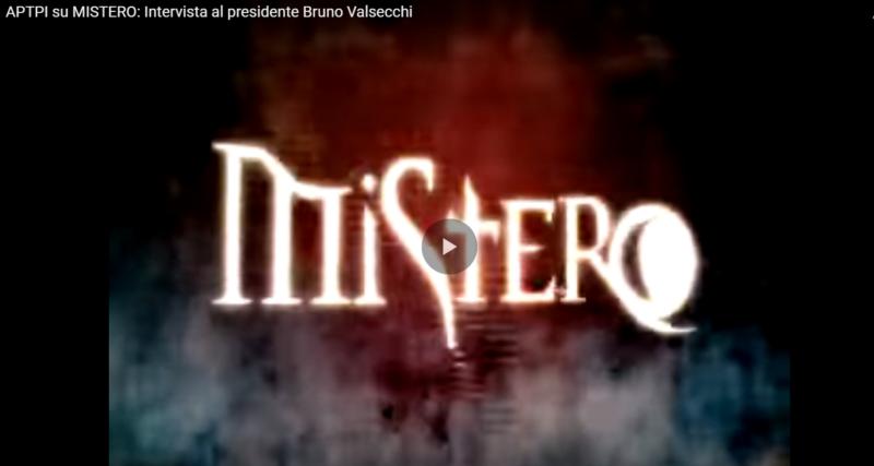 Servizio Italia Uno programma Mistero sospensioni corporali